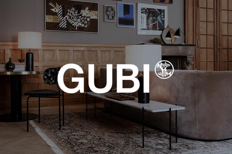 Gubi Brand logo with image