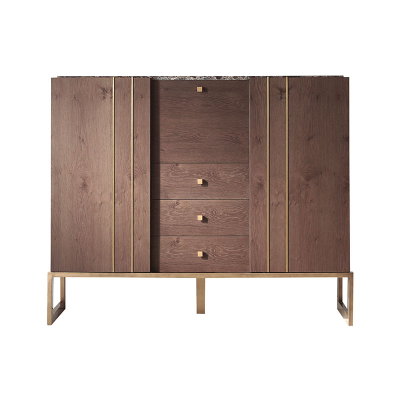 Olson and Baker Faraday Bar Cabinet by Olson and Baker Studio