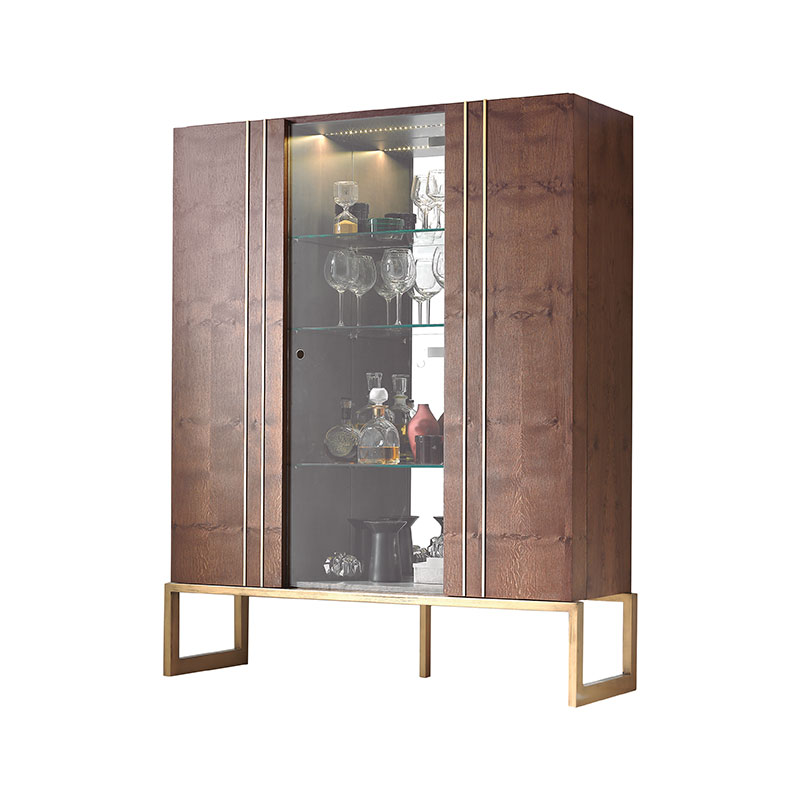 Olson and Baker Faraday Display Cabinet by Olson and Baker Studio