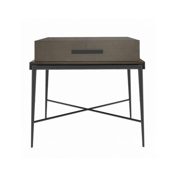 Heaviside Bedside Table with One Drawer