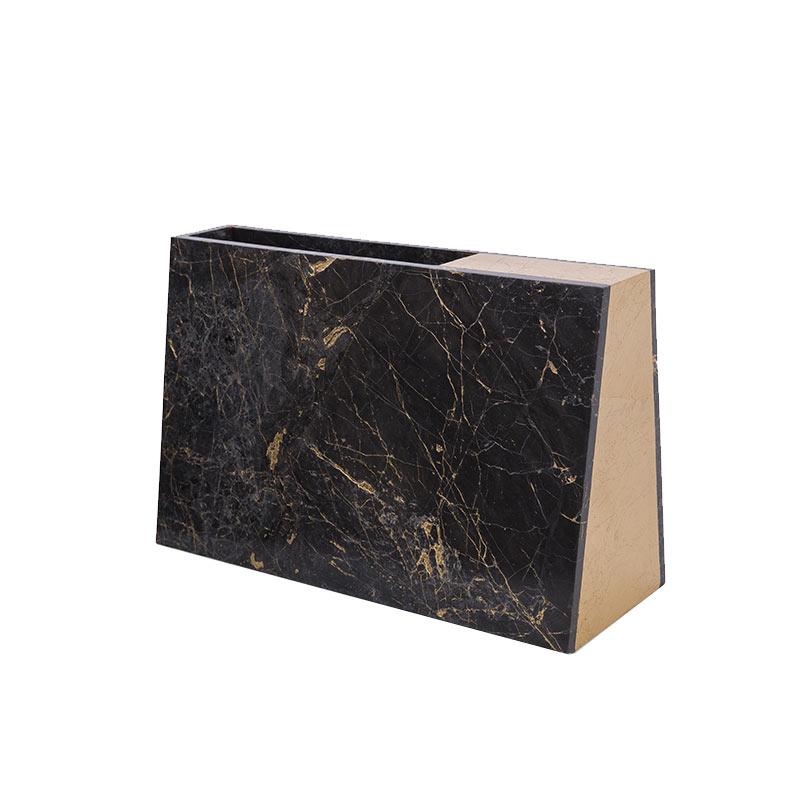 Alex Mint Barricade 10x24cm Marble Vase by Alexia Mintsouli
