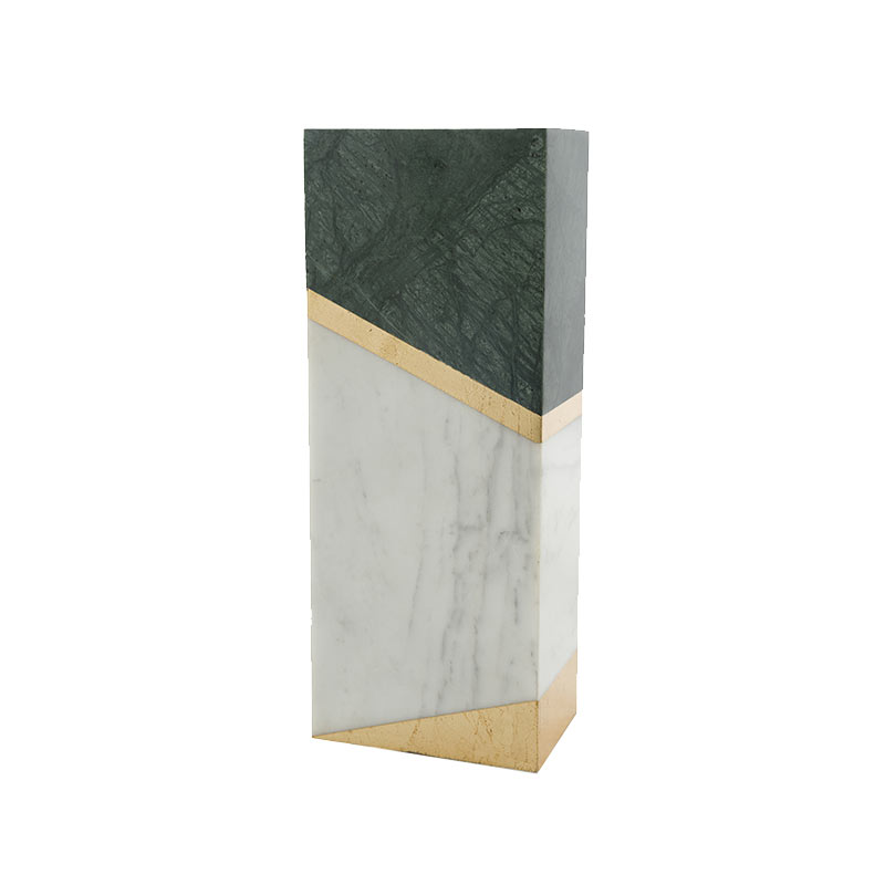 Alex Mint Chimney 12x7.4cm Marble Vase by Alexia Mintsouli Olson and Baker - Designer & Contemporary Sofas, Furniture - Olson and Baker showcases original designs from authentic, designer brands. Buy contemporary furniture, lighting, storage, sofas & chairs at Olson + Baker.
