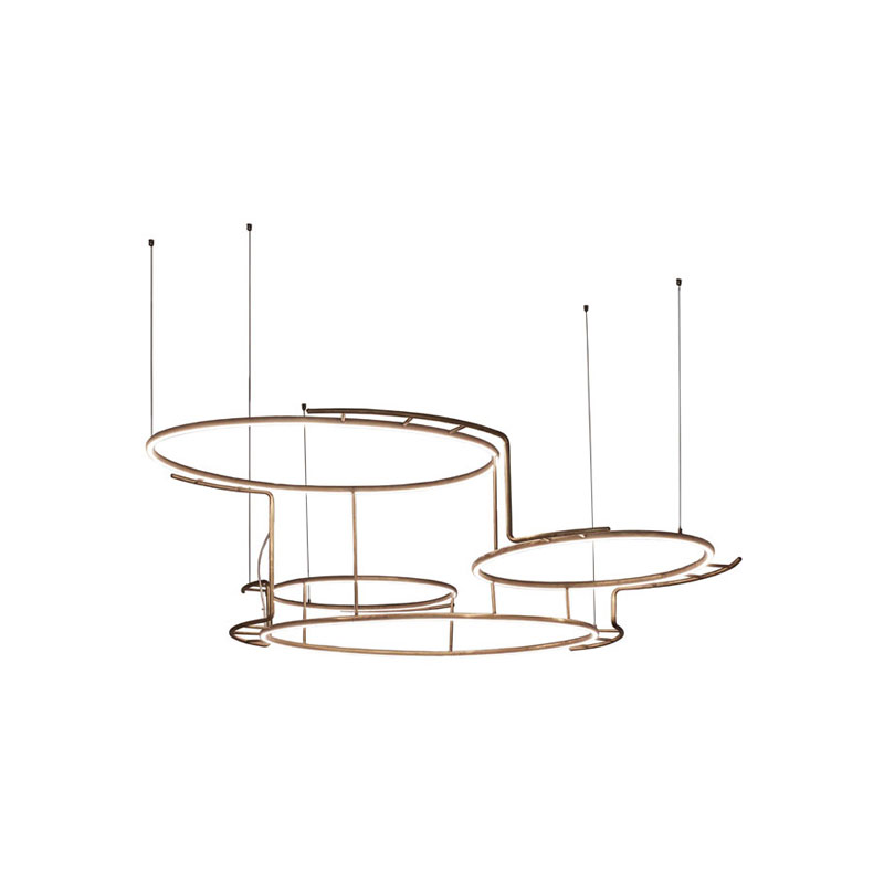 DCW Editions Broche Pendant Light by Éric de Dormaël