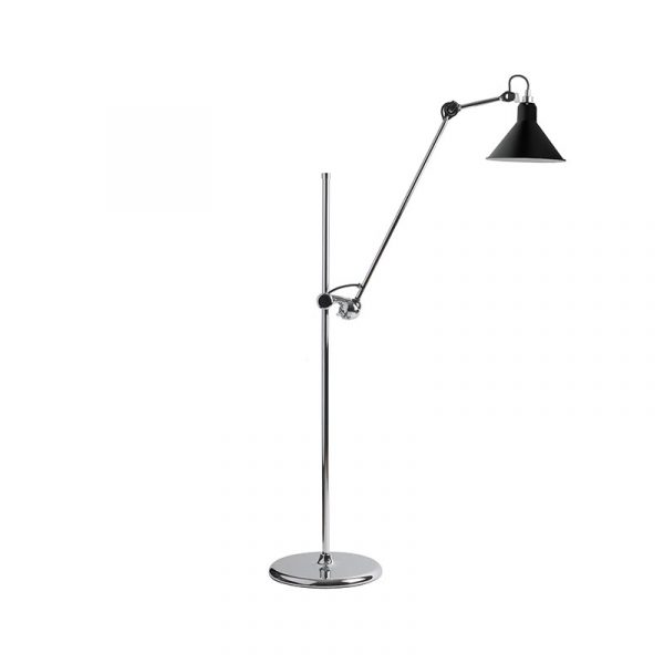 Lampe Gras N215 Floor Lamp with Conical Shade