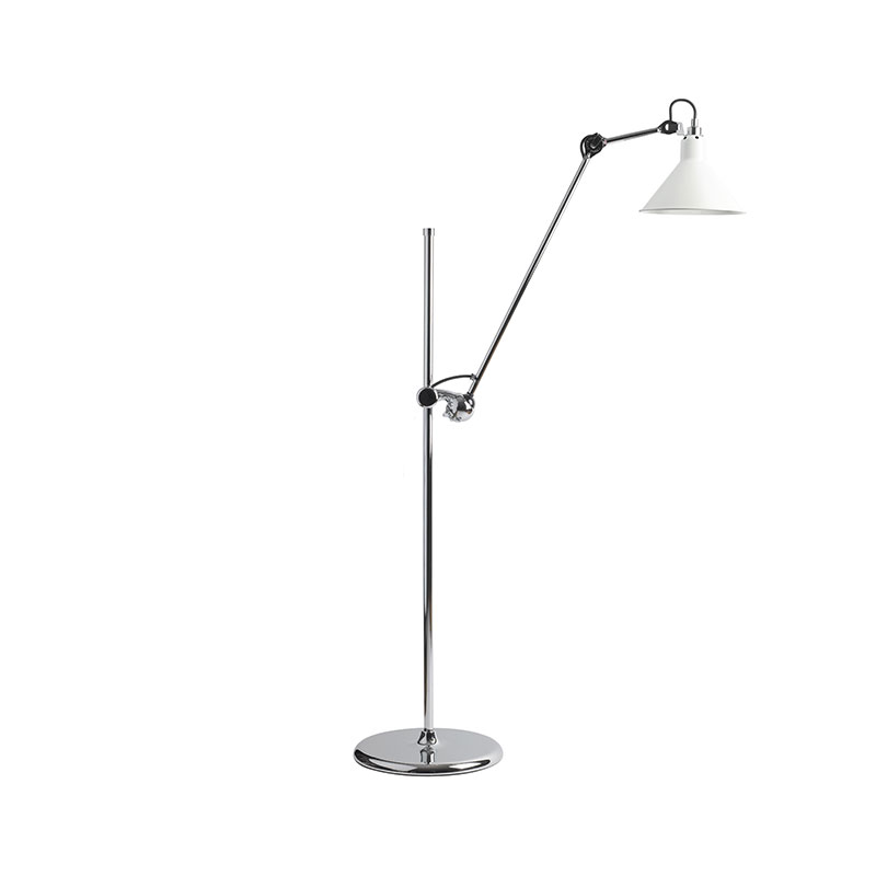 DCW Editions Lampe Gras N215 Floor Lamp with Conical Shade by Bernard-Albin Gras Olson and Baker - Designer & Contemporary Sofas, Furniture - Olson and Baker showcases original designs from authentic, designer brands. Buy contemporary furniture, lighting, storage, sofas & chairs at Olson + Baker.