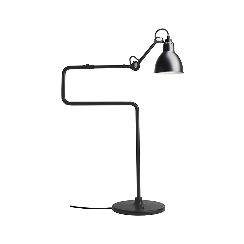 DCW Editions Lampe Gras N317 Table Lamp with Round Shade by Bernard-Albin Gras