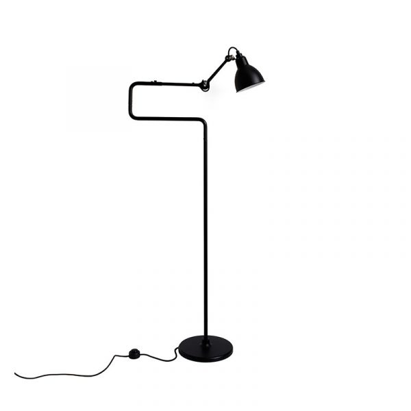 Lampe Gras N411 Floor Lamp with Round Shade