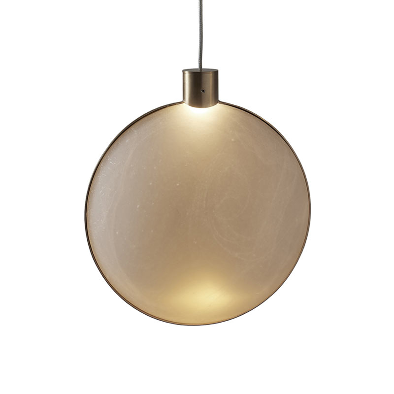 DCW Editions Lune Pendant Light by Éric de Dormaël