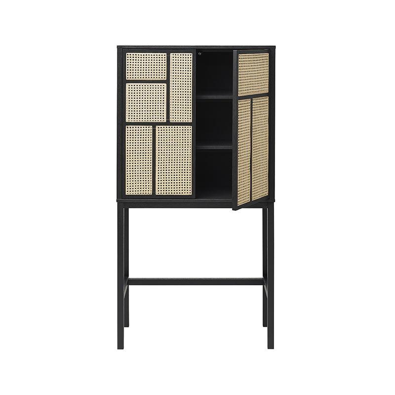 Design House Stockholm Air Cabinet by Mathieu Gustafsson Black 02