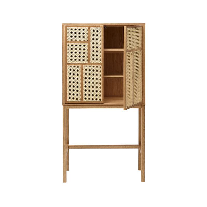 Design House Stockholm Air Cabinet by Mathieu Gustafsson Oak 03