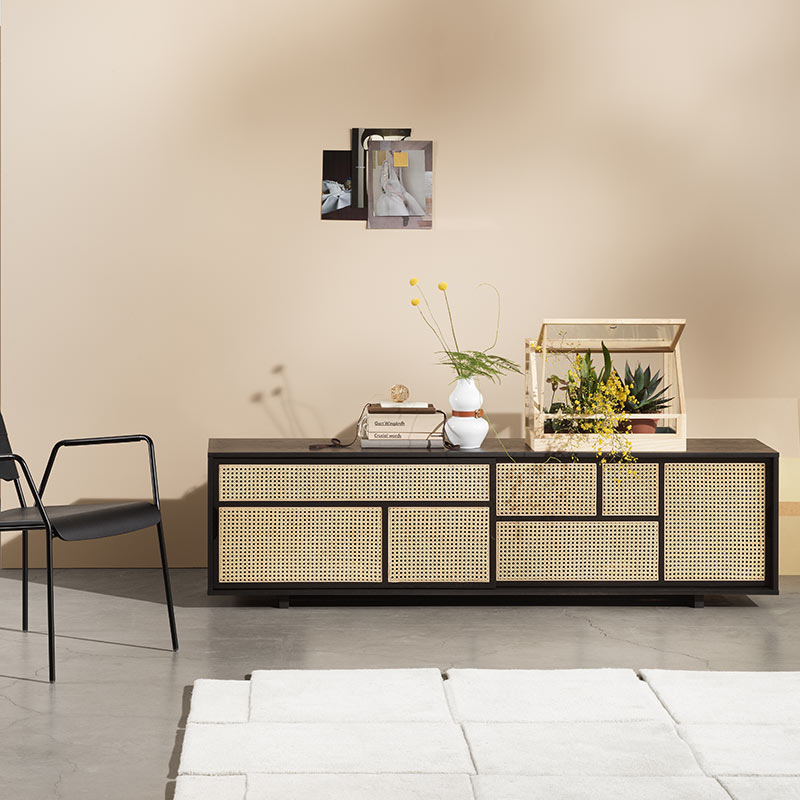 Design House Stockholm Air Low Sideboard by Mathieu Gustafsson Lifeshot 01
