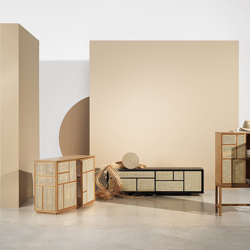 Design House Stockholm Air Low Sideboard by Mathieu Gustafsson Lifeshot 03