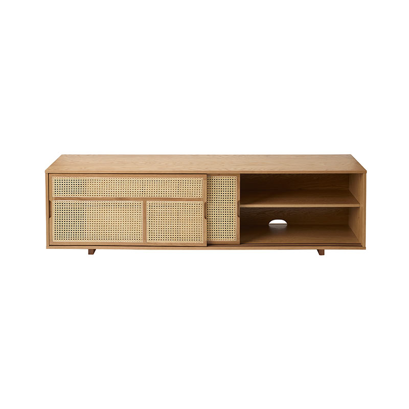 Design House Stockholm Air Low Sideboard by Mathieu Gustafsson Oak 02