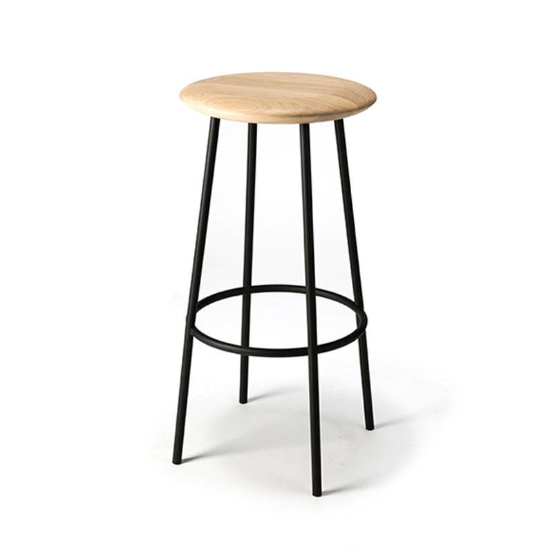 Ethnicraft Baretto Bar Stool by Sascha Sartory