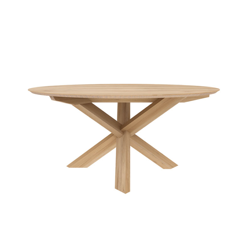 Ethnicraft Circle Dining Table by Alain van Havre
