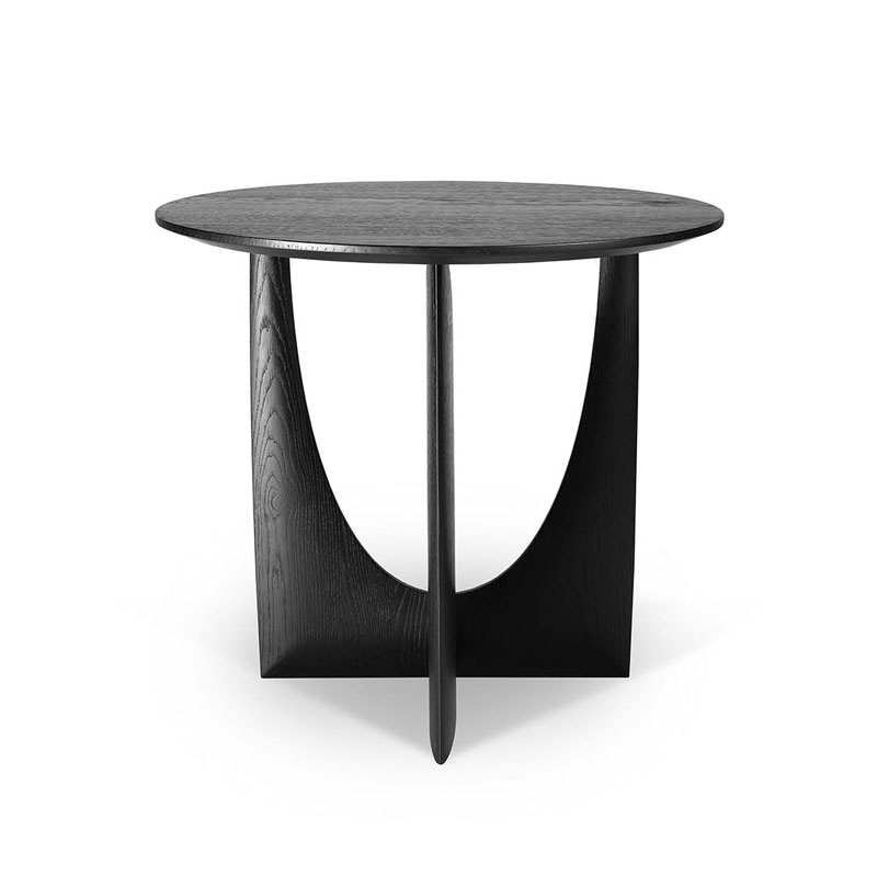 Ethnicraft Geometric Side Table by Alain van Havre