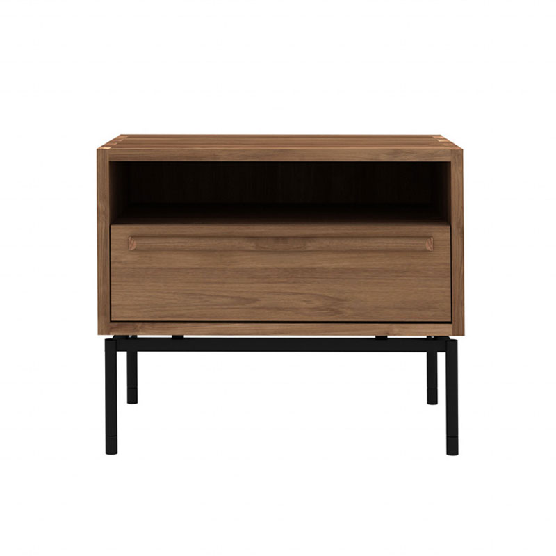Ethnicraft HP Bedside Table in Teak by Alain van Havre