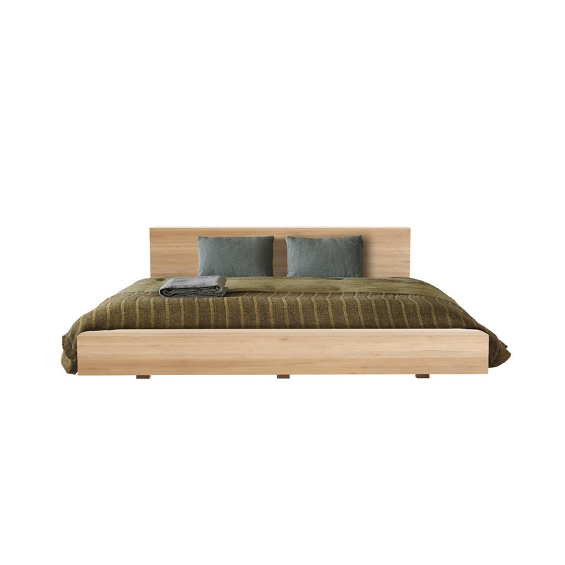Ethnicraft Madra Bed in Oak by Alain van Havre