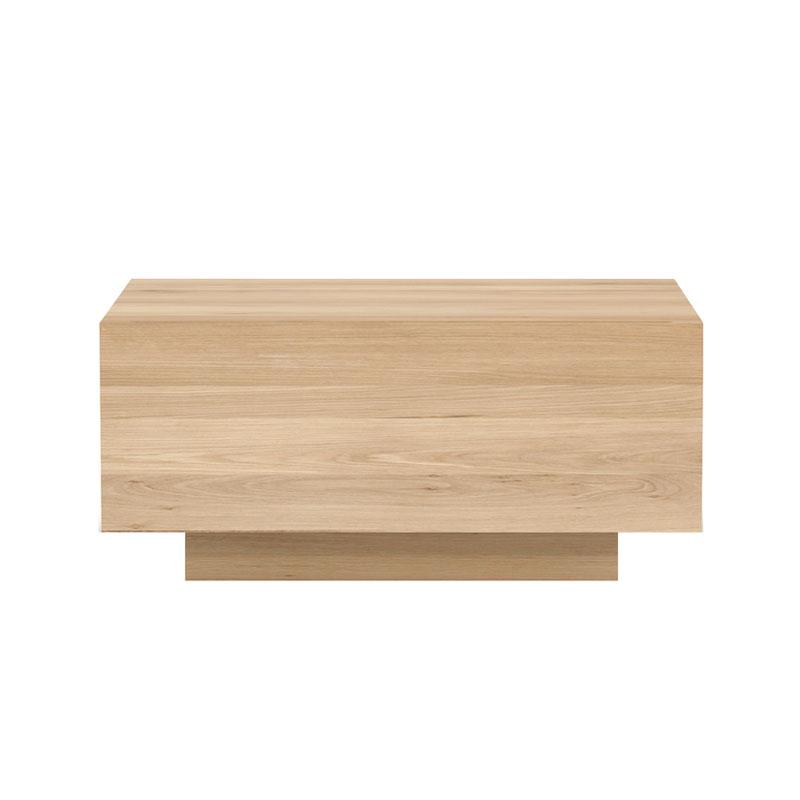 Ethnicraft Madra Bedside Table in Oak by Alain van Havre