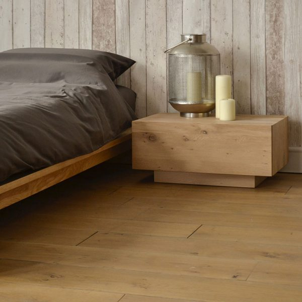Madra Bedside Table in Oak