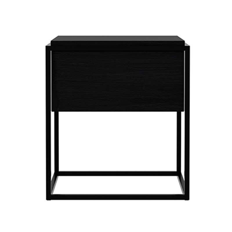 Ethnicraft Monolit Bedside Table by Ethnicraft Studio Olson and Baker - Designer & Contemporary Sofas, Furniture - Olson and Baker showcases original designs from authentic, designer brands. Buy contemporary furniture, lighting, storage, sofas & chairs at Olson + Baker.