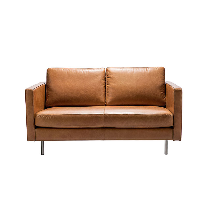 Ethnicraft N501 Two Seater Sofa by Jacques Deneef