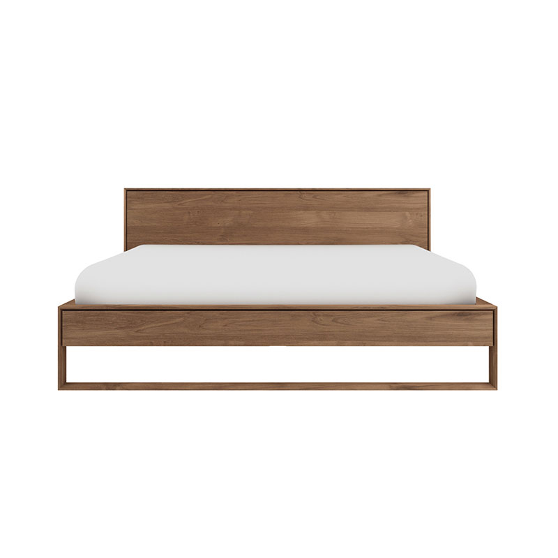 Ethnicraft Nordic II Bed by Alain van Havre