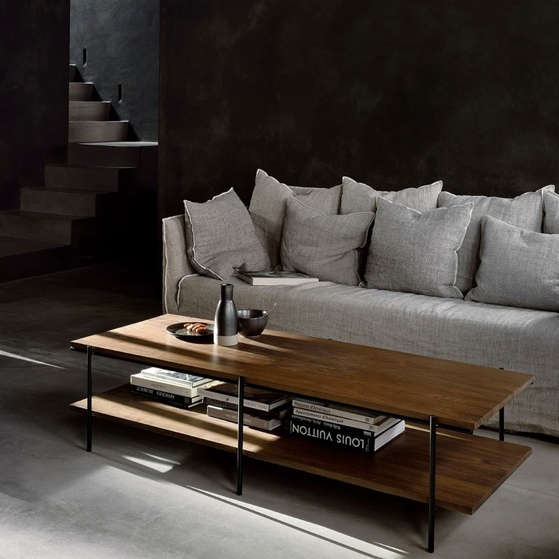 Ethnicraft Rise Coffee Table by Alain van Havre Lifeshot