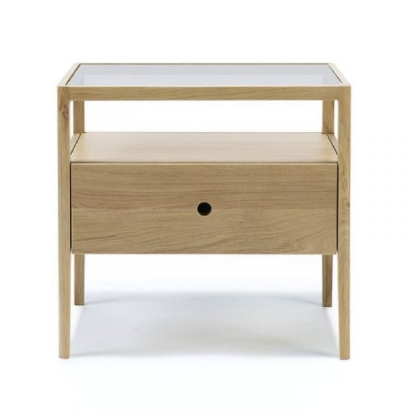 Spindle Bedside Table