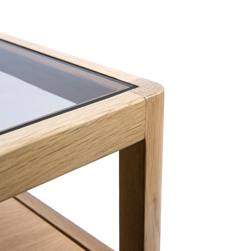 Ethnicraft Spindle Bedside Table by Nathan Yong Oak 02