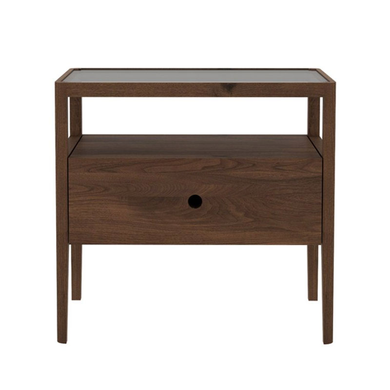 Ethnicraft Spindle Bedside Table by Nathan Yong