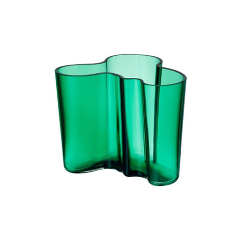 Iittala Aalto 120mm Glass Vase by Alvar Aalto