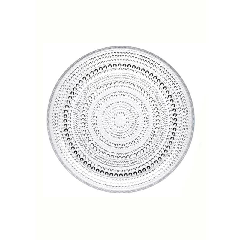 Iittala Kastehelmi 248mm Plate - Set of Six by Oiva Toikka