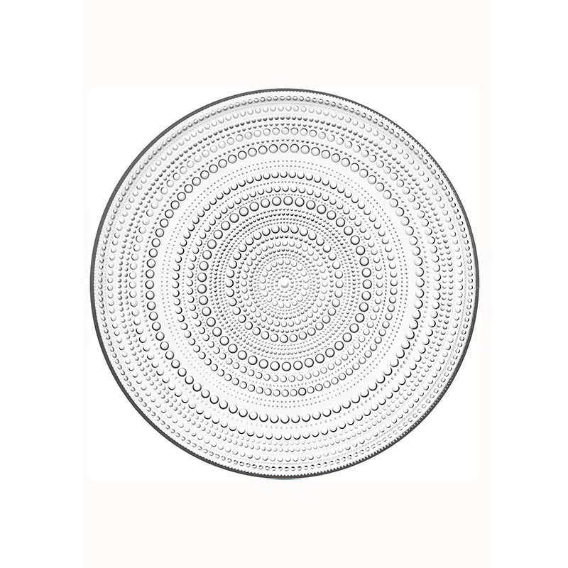 Iittala Kastehelmi 315mm Plate - Set of Four by Oiva Toikka