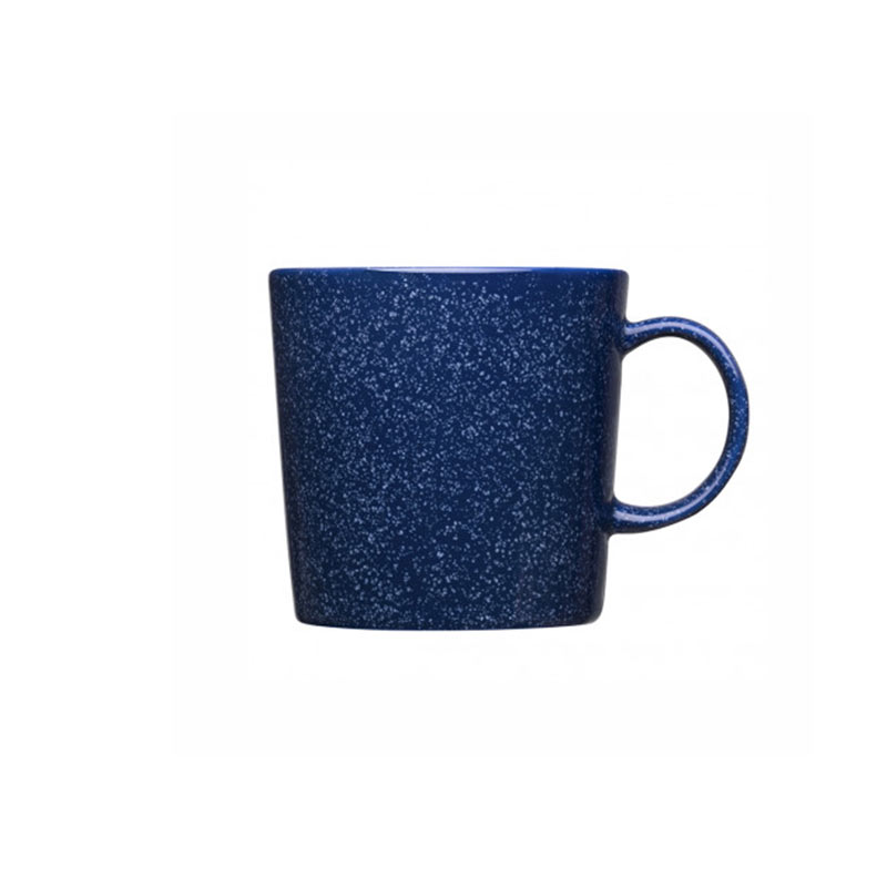 Iittala Teema 0.3L Mug - Set of Six - Dotted Blue by Kaj Franck