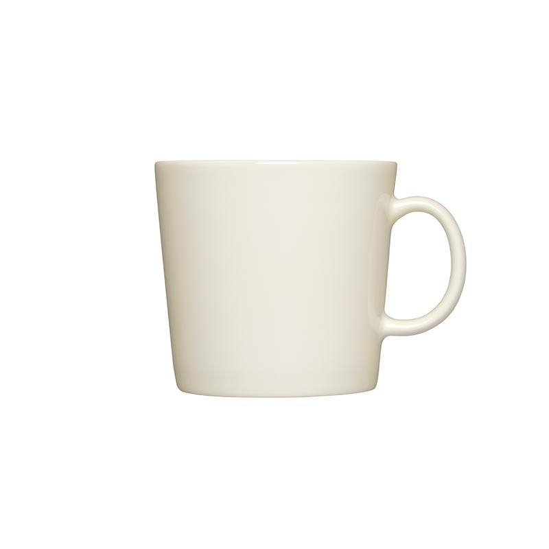 Iittala Teema White 0.4L Mug – Set of Six by Kaj Franck Olson and Baker - Designer & Contemporary Sofas, Furniture - Olson and Baker showcases original designs from authentic, designer brands. Buy contemporary furniture, lighting, storage, sofas & chairs at Olson + Baker.