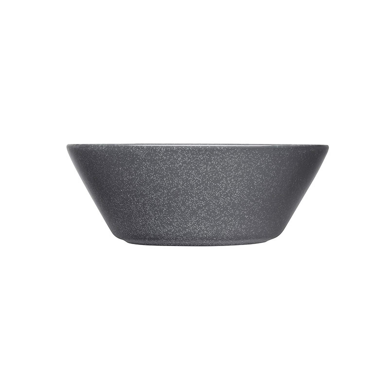 Iittala Teema 15cm Bowl - Set of Six - Dotted Grey by Kaj Franck