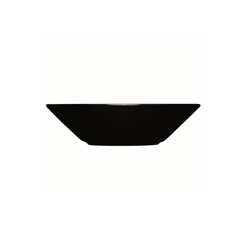 Iittala Teema Black 21cm Deep Plate –Set of Six by Kaj Franck Olson and Baker - Designer & Contemporary Sofas, Furniture - Olson and Baker showcases original designs from authentic, designer brands. Buy contemporary furniture, lighting, storage, sofas & chairs at Olson + Baker.