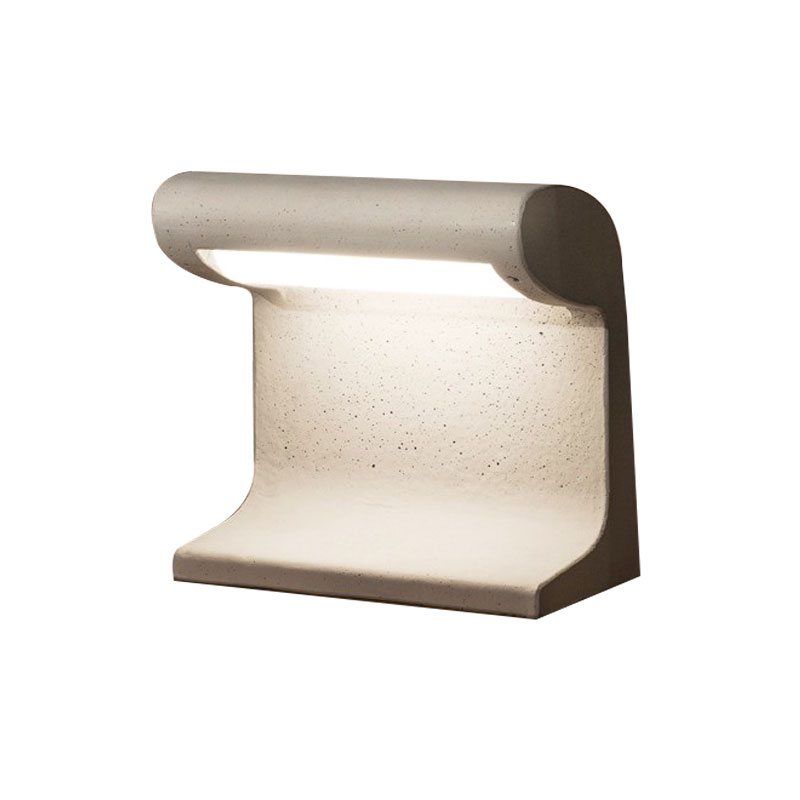 Nemo Lighting Outdoor Borne Beton Petite Table Lamp by Le Corbusier