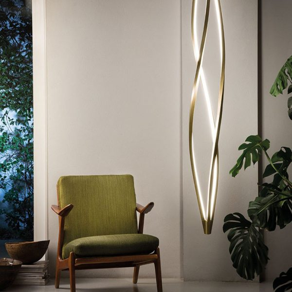 In The Wind Vertical Pendant Lamp