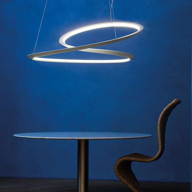 Nemo Kepler Uplight Pendant Lamp by A. Miyake life Olson and Baker - Designer & Contemporary Sofas, Furniture - Olson and Baker showcases original designs from authentic, designer brands. Buy contemporary furniture, lighting, storage, sofas & chairs at Olson + Baker.