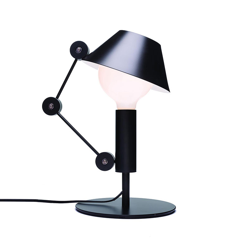Nemo Lighting Mr. Light Short Table Lamp by J. Mariscal