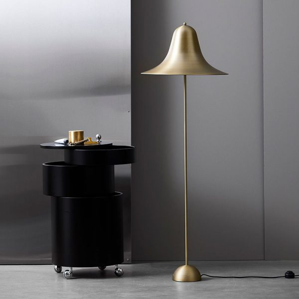 Pantop Floor Lamp in Brass