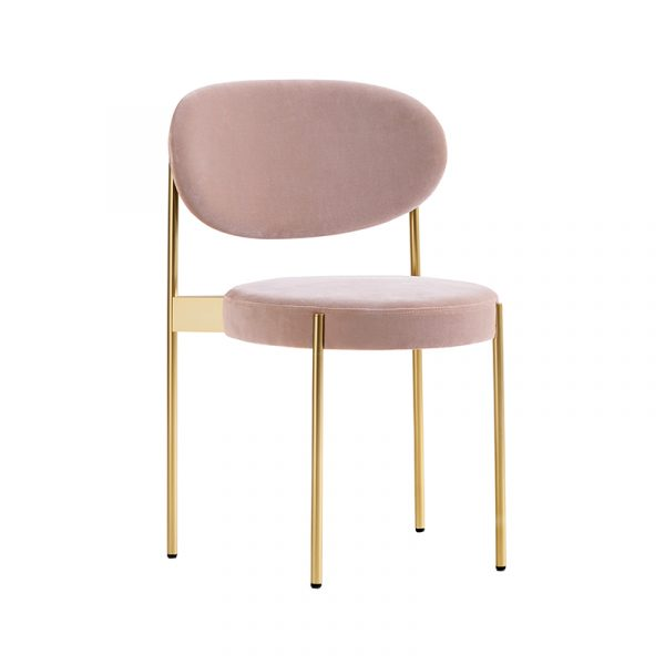 Series 430 Chair with Brass Frame
