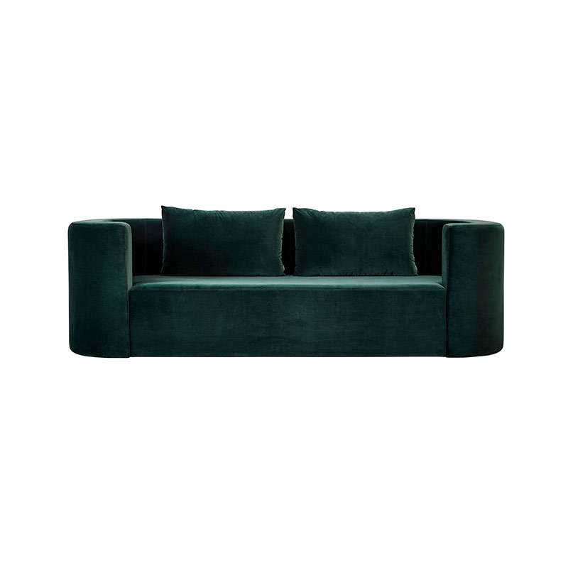 Verpan VP168 Three Seat Sofa by Verner Panton