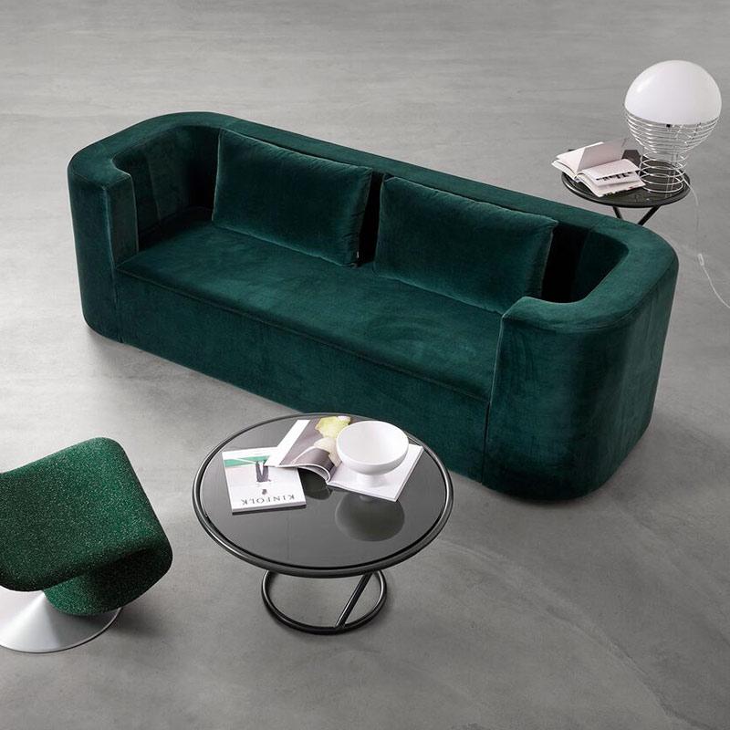Verpan VP168 Three Seat Sofa by Verner Panton life 1