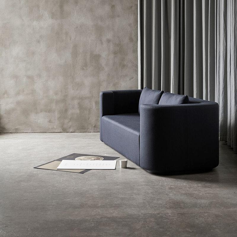 Verpan VP168 Three Seat Sofa by Verner Panton life 2