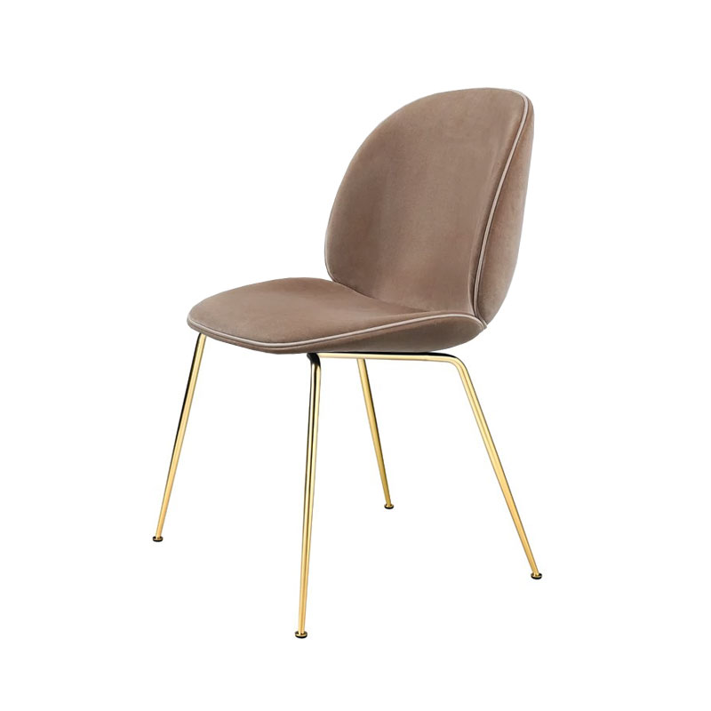 Gubi Beetle Fully Upholstered Stackable Dining Chair by GamFratesi