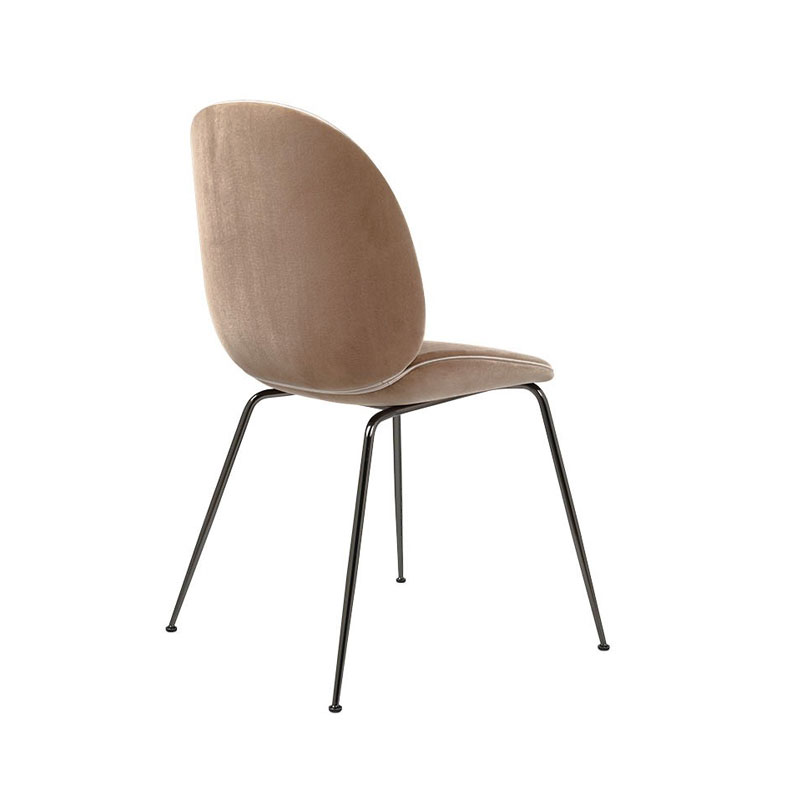 Gubi Beetle Fully Upholstered Dining Chair by GamFratesi