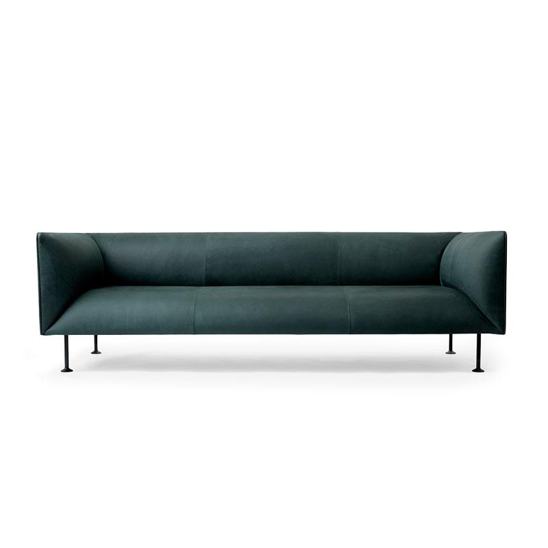 Menu Godot Three Seat Sofa by Iskos-Berlin